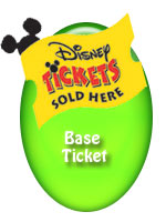 Disney's 4 Day Base Ticket with Exp - 5th Day Free!