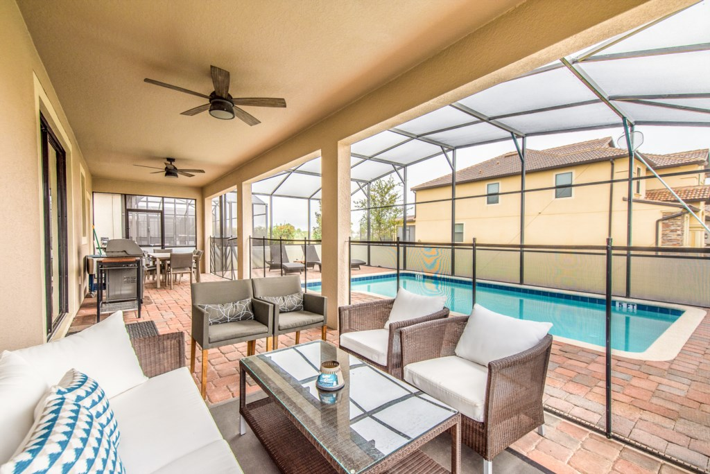 Amazing 8 bed 5 bath Champions Gate home.-130475