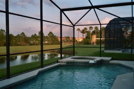 Pool home 2 miles from Disney -4202