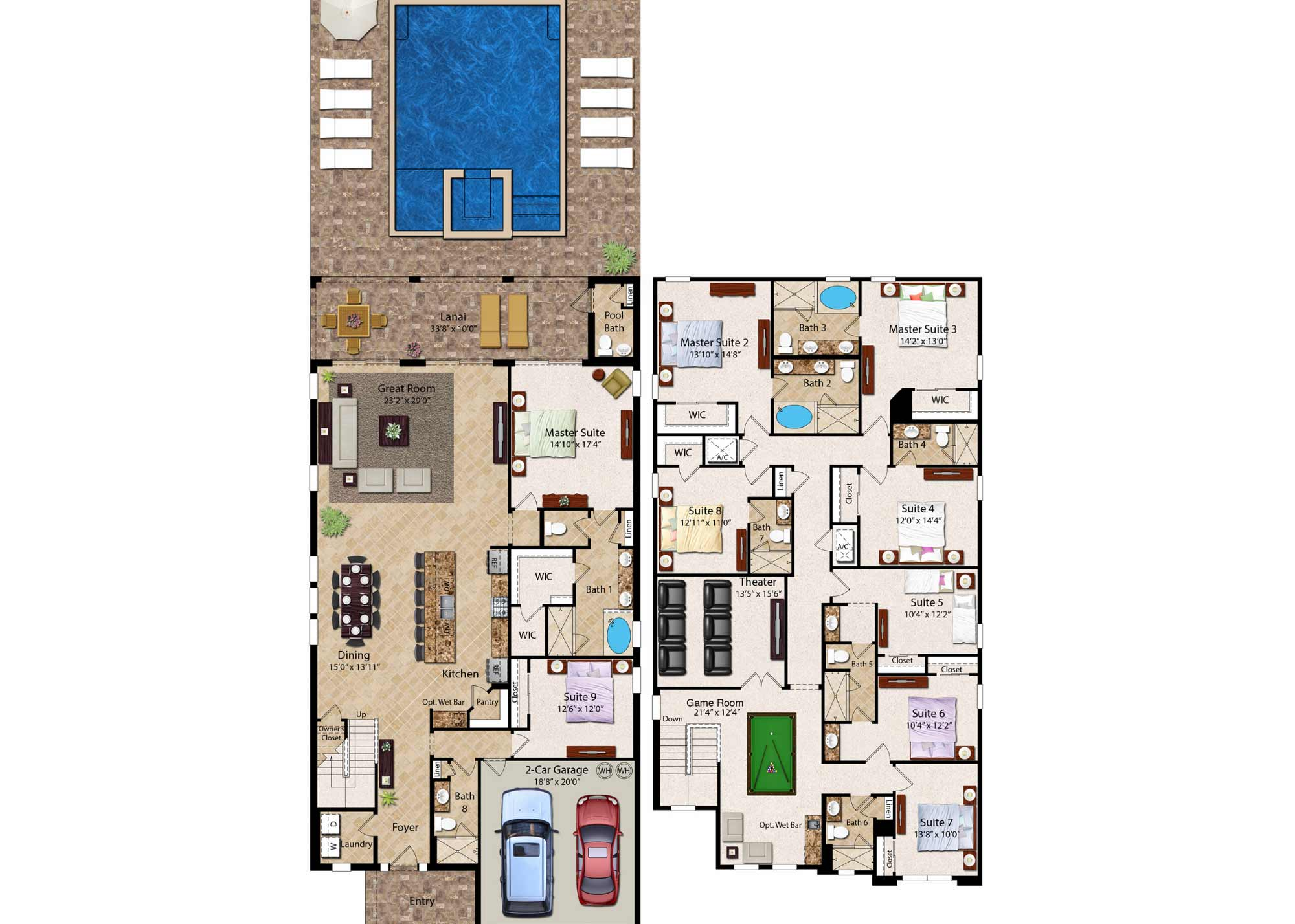 The Creatively Colorful Villa-196208